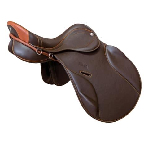 selle de cheval mixte Zaldi Olympic Deluxe