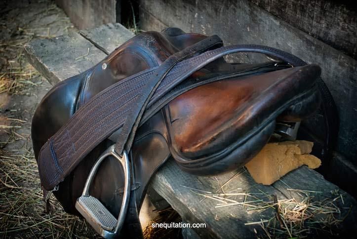 Les cas particuliers: Comment nettoyer une vielle sell de cheval en cuir