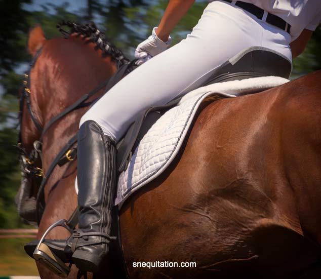 Quand la haute couture s'inspire de l'équitation