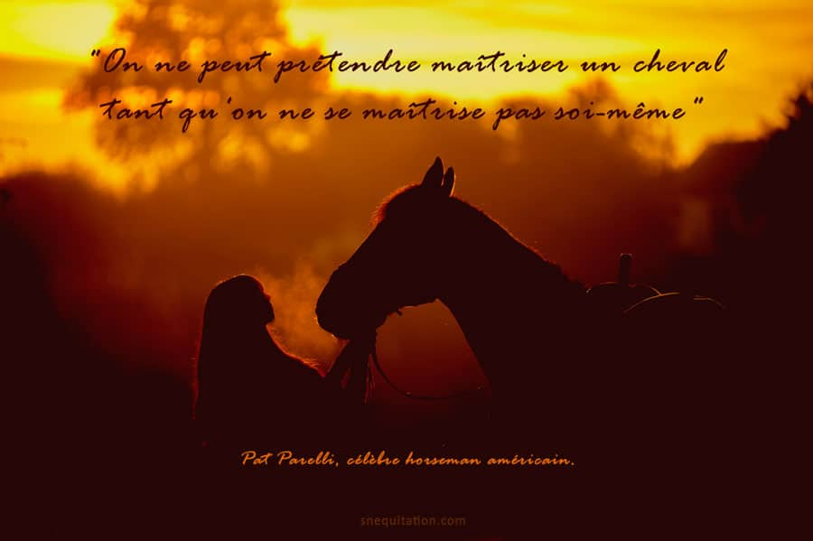 Pat Parelli, célèbre horseman américain.